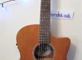 Elec / Acoustic VINTAGE VE900MH   Set Up  Quality New Strings   vgc