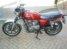 Yamaha XS250 4 stroke twin