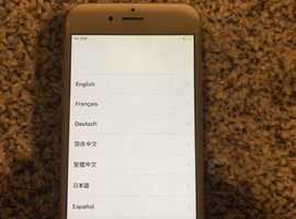iPhone 6 gold locked to EE