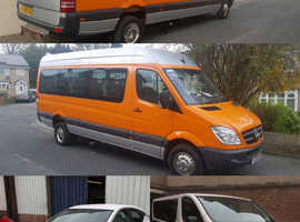 8 to 63 seater Minibus and coach hire
