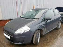 Fiat Grande Punto, 2009 (58) Grey Hatchback, Manual Petrol, 110 miles
