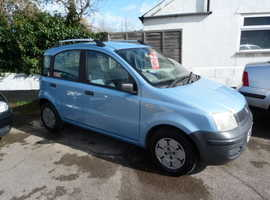 Fiat Panda, 2005 (55) Blue Hatchback, Manual Petrol, 64,000 miles