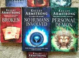 Kelley Armstrong Otherworld Series Urban Fantasy / Supernatural Thriller Books
