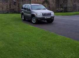 Jeep GRAND CHEROKEE CRD LTD AUTO, 2004 (04) Silver Estate, Automatic Diesel, 131,471 miles