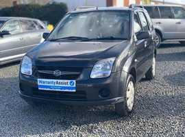 Suzuki Ignis, 2007 (57) Black Hatchback, Manual Petrol, 86,000 miles