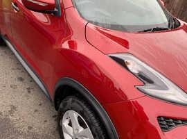 Nissan Juke, 2015 (65) Red Hatchback, Manual Diesel, 47,031 miles