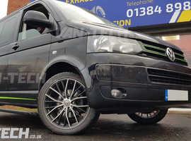 VW Transporter T5.1 T6 Electric Side Steps Bars from Van-Tech.co.uk