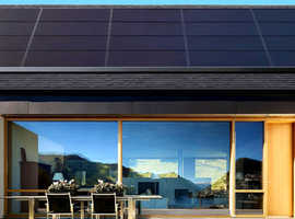 Solar panels pv with battery storage systems