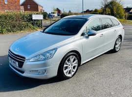 Peugeot 508, 2011 (61) Silver Estate, Manual Diesel, 218,424 miles