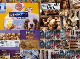 Dog treats and bones