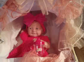 Reborn berenguer dolls & moses basket