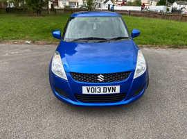Suzuki Swift, 2013 (13) blue hatchback, Manual Petrol, 40,000 miles