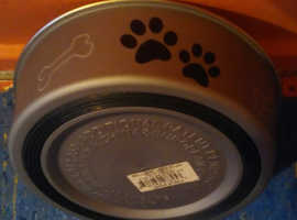 Two different dog bowls for sale