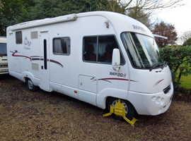 2007 RAPIDO A-CLASS ONLY £25,995