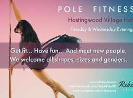 Pole Fitness for All Levels - Nr Harlow, Epping & Ongar