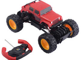 COSTWAY 1:18 RC Monster Truck Remote Control Off-Road Car (TY558748)