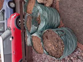 4 bags soil