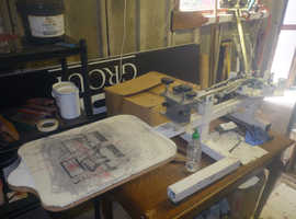 screen print equipment job lot
