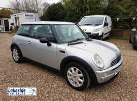 Mini One 1.6 Litre 3 Door Hatch, Lovely Condition, 115k, New MOT, Recent Service.