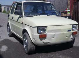 Fiat 126 bis   18k miles   great fun   getting rare now   RHD