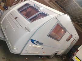 Fleetwood sonata caravan