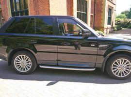 Land Rover Range Rover Sport, 2012 (62) Black Estate, Automatic Diesel, 80,377 miles
