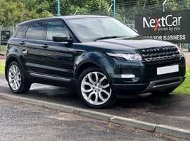 Land Rover Range Rover Evoque 2.2 SD4 Pure Tech Auto Stunning Example with Full Leather and Fabulous Low Miles! Huge Specification!