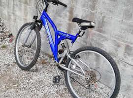 Man's mountain bike
