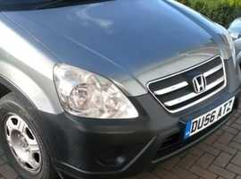 Honda CR-V, 2006 (56) Silver Estate, Manual Diesel, 93,000 miles