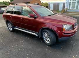 Volvo Xc90, 2007 (56) Red Estate, Automatic Diesel, 17,823 miles