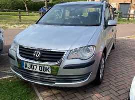 Volkswagen Touran, 2007 (07) Silver MPV, Manual Diesel, 139,200 miles
