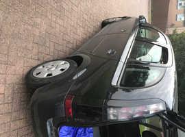 Vauxhall Meriva, 2009 (59) Black MPV, Manual Petrol, 115,000 miles