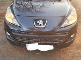 Peugeot 207, 2011 (61) Black Hatchback, Manual Diesel, 147,000 miles