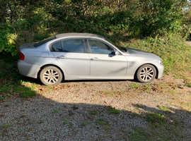 BMW 3 Series, 2006 (56) Silver Saloon, Manual Petrol, 91,977 miles