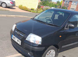 Hyundai Amica, 2007 (57) Black Hatchback, Manual Petrol, 31,887 miles