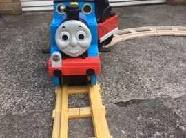 Peg Perego Thomas the Tank Engine Ride on Train