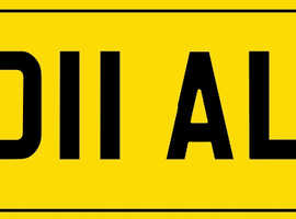 OO11ALG private plate
