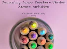 Are you a Secondary School Teacher?