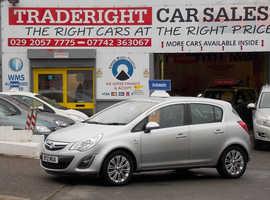 Vauxhall Corsa, 2012 (12) Silver Hatchback, Automatic Petrol, 23,000 miles