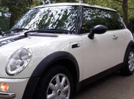 Mini MINI, 2004 (04) White Hatchback, Manual Petrol, 130,000 miles