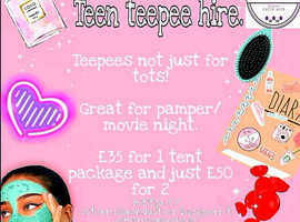 Affordable Birthday Teepee Hire