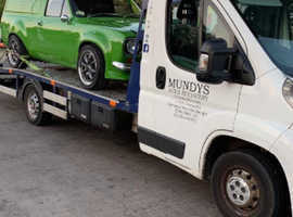 Mundy's auto recovery and tyre fitting services