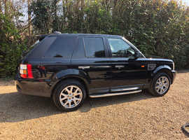 Land Rover Range Rover Sport, 2006 (56) Black Estate, Automatic Diesel, 117,000 miles