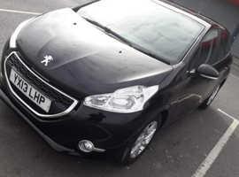 Peugeot 208, 2013 (13) Black Hatchback, Manual Petrol, 87,567 miles