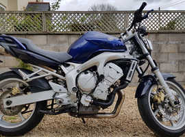 Naked Fazer 600 With New MOT