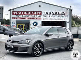2015/65 Volkswagen Golf GTD 2.0 Blue-Motion Tech finished in Gun Metal Grey., 40,259 miles