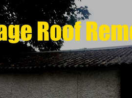 Asbestos Garage Roof Removal London  Big Discount Today Free Quote