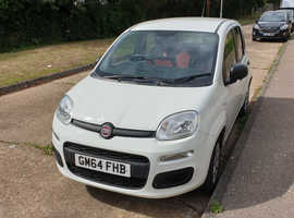 Fiat Panda, 2014 (64) White Hatchback, Manual Petrol, 38,000 miles