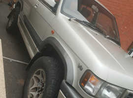 Vauxhall Monterey, 1999 (T) silver estate, Automatic Biofuel, 180000 miles