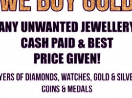 WE BUY GOLD BEST PRICE GIVEN LOCALLY